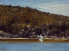 Unframed Canvas Prints - The Camp, Sirius Cove - Tom Roberts
