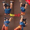 17 CM Anime Dragon Ball Z Son Goku ZERAR Genki Dama Bomba espírito Action Figure Brinquedos DragonBall figura Coleção Toy Kids brinquedo