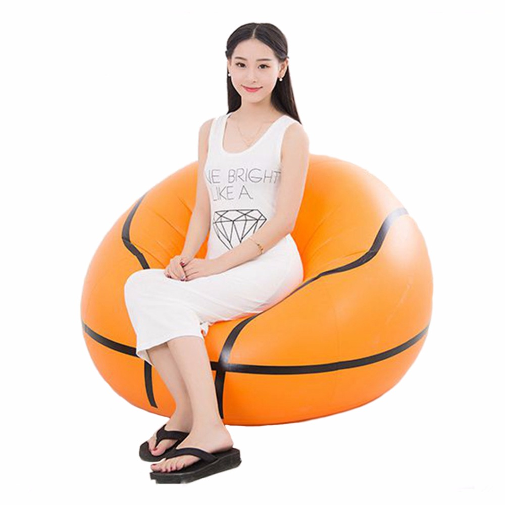 Inflatable Seat, Large Modern Bean Bag Chair for Adults ...
