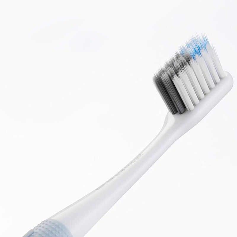 Оригинальный 4 шт. smart Xiaomi доктор б бас метод зубная щетка руководство мягкая Зубная щётка 4 цвета/Lot с Travel Box