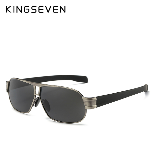 KINGSEVEN Fashion Driving Sun Glasses for Men Polarized sunglasses UV400 Protection Brand Design Eyewear High Quality  4