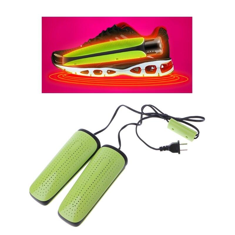 THINKTHENDO Shoe Dryer Telescopic Drier Heater Stretching Dehumidify Deodorant Shoes Warmer