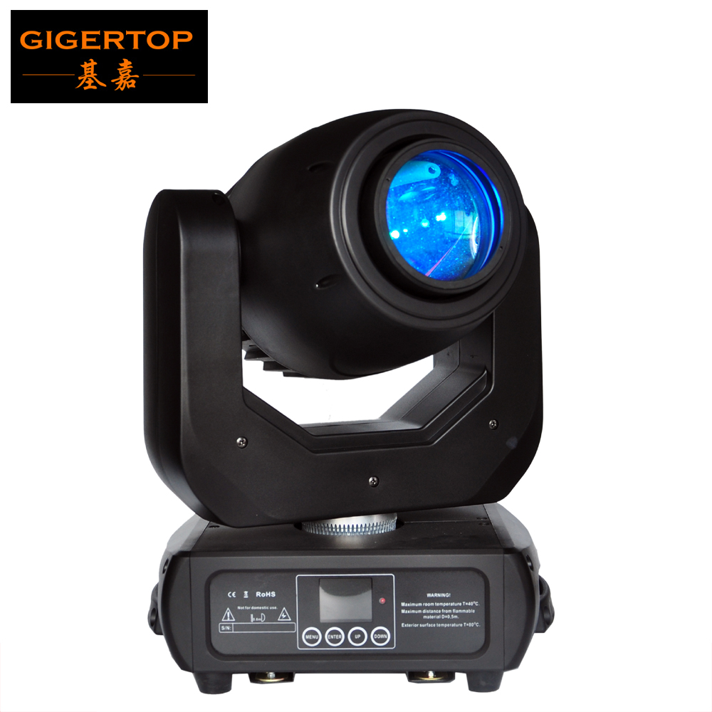 Gigertop TP-L681 New 150W Led Moving Head Spot Light YGC-200WWW High Output 16/14/12/10 DMX Channel 512 Control Power in/out Con www барахолка аквариум 200 л в иваново