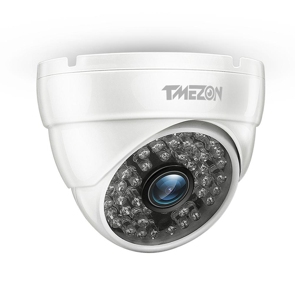 TMEZON AHD 1080P CCTV Security Camera IR Cut Day/Night Vision Video Outdoor Waterproof IR Bullet Surveillance Camera