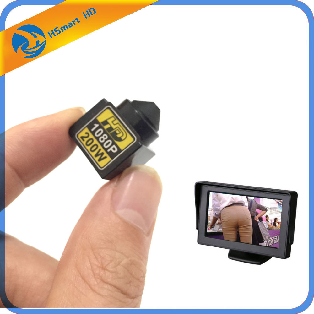 Super Mini Camera 1080P AHD CVI TVI CVBS 4 In 1 OSD Security 3.7mm Wide Lens Video For AHD DVR CCTV CVBS Connect To Monitor/TV