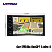 170*96mm Car Android Multimedia System Radio AMP BT HD Touch TV Screen GPS Navi Navigation Audio Video Stereo DVD CD Player