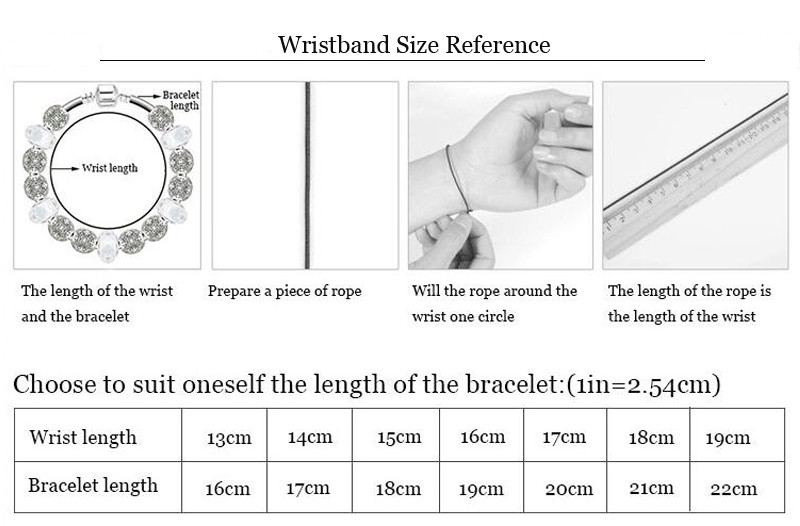 wristband size