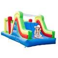Yard casa bounce combo 6 em 1 grande escorrega ao ar livre curso de obstáculo inflável crianças brinquedos oferta especial para a áfrica