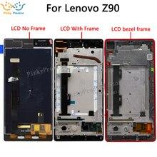 Wyświetlacz LCD do Lenovo vibe shot Max Z90 wyświetlacz dotykowy ekran dla Lenovo Z90 wyświetlacz Z90A40 Z90 7 LCD Z90 7 wymiana wyświetlacza