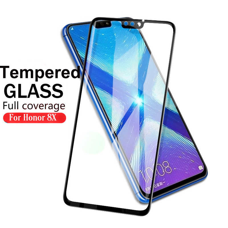 Full Cover Screen Protector For Huawei Honor 8X 10 8 9 Lite Tempered Glass For HUAWEI 8 X 10Lite 9Lite 9 10 Protective Film
