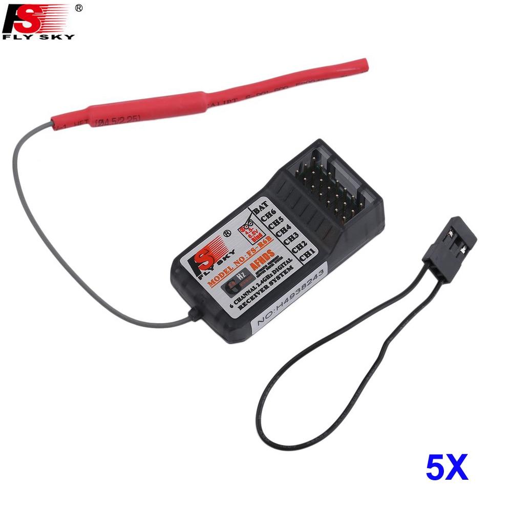 5pcs lot FlySky FS R6B 2 4Ghz 6CH Receiver for FlySky TH9X FS CT6B FS T6