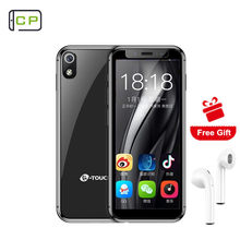 K-TOUCH I9 Mobile Phone Android 8.1 Quand Cord 2GB/3GB RAM +16GB/32GB ROM GPS 2000Mah Pocket Mini Luxury Face Unlock Cellphone(China)