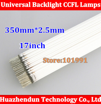 "100pcs Free shipping 100% New  17"" screen CCFL backlight lamp tube 350MM*2.4MM/2.5mm High Quality"