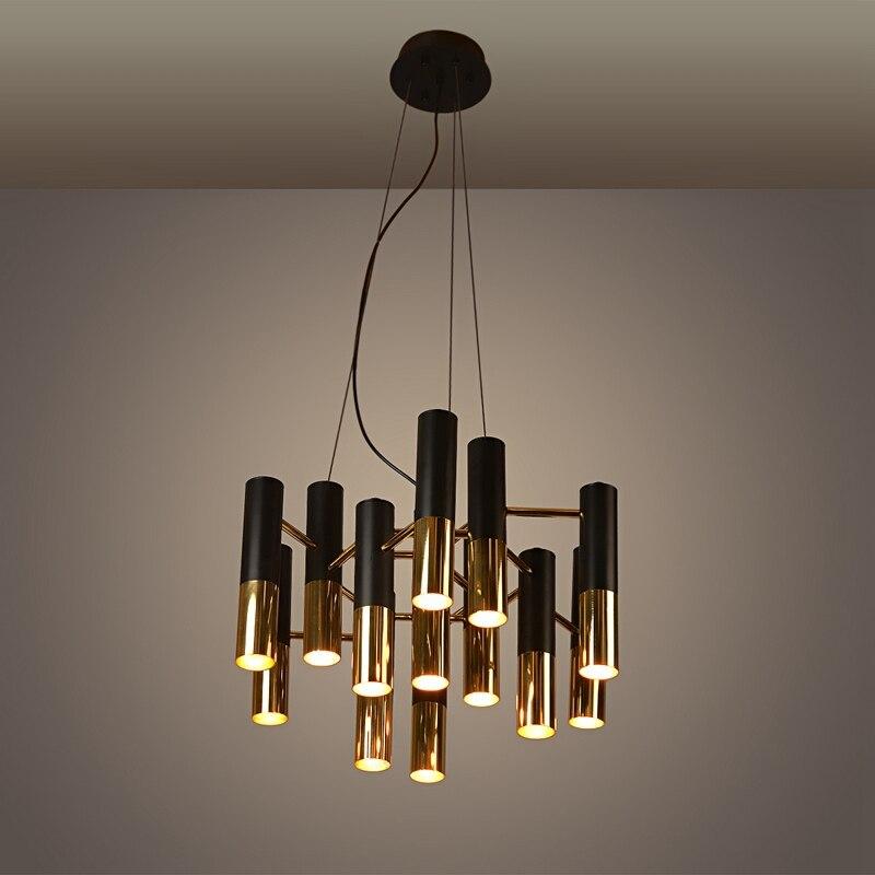 Modern Metal Chandelier: Aliexpress.com : Buy New metal aluminum tube pendant lamp modern chandelier  fashion home design Dining bedroom living room cafes clubs chandelier+EMS  from ...,Lighting