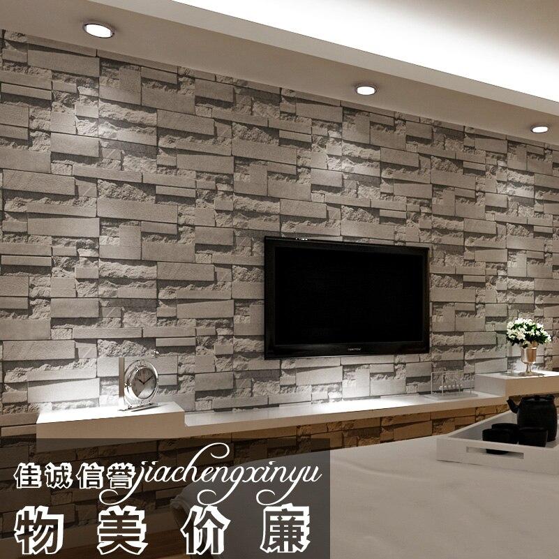 gris ladrillo d wallpaper rollo vinilo papel de paredechina mainland