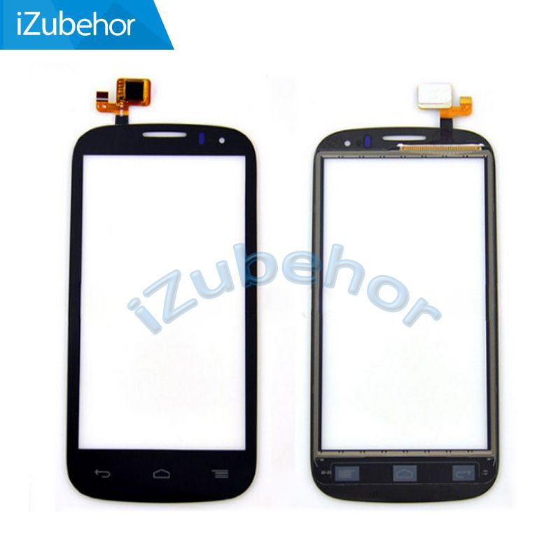 100% warranty black Digitizer front glass <font><b>Touch</b></font> Screen For <font><b>Alcatel</b></font> <font><b>One</b></font> <font><b>Touch</b></font> <font><b>5036D</b></font> 5037E Pop C5 Dual By Free Shipping image