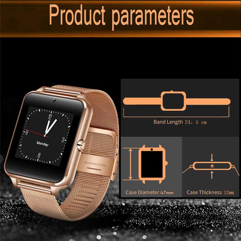 LIGE montre intelligente hommes femmes montre électronique numérique en acier inoxydable Sport étanche montre Support SIM TF pour téléphones Android