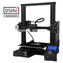 Горячая Распродажа Ender-3 DIY комплект 3D принтер большой размер I3 мини Ender 3/Ender-3X принтер 3D продолжение печати мощность Creality 3D