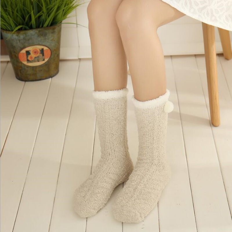 Fuzzy Winter Socks 3