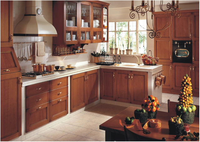 2017 Free Design Customized For Kitchen Furniture With Solid Wood Door  Panel Modular Kitchen Cabinets