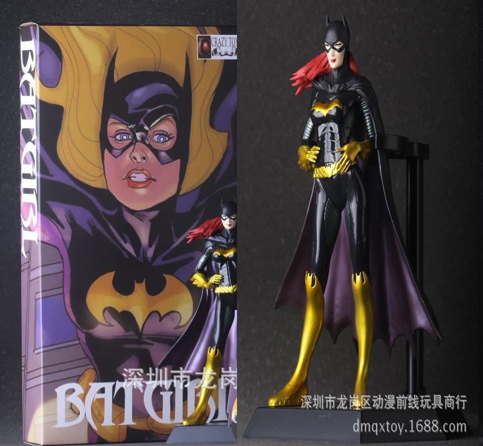 NEW hot 25cm Justice league batman Batgirl action figure toys ...