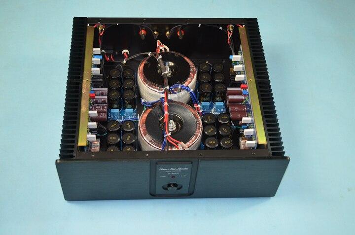 YS-audio KSA100PD pure power amplifier circuit double transformer 265W+265W KSA100 HIFI EXQUIS KSA100 finished ksa100 hifi pure power amp amplifier single transformer class ab 200w 200w