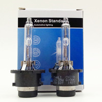 Free Shipping 2pcs D2S Xenon Bulbs With Metal Hold Best Quality And Cheaper Price 3000K 4300K