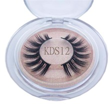 Buzzme KDS12 100% hand made 3D faux nerz wimpern natürliche lange wimpern make up falsche wimpern