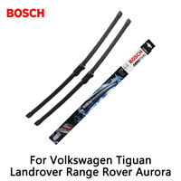 2pcs Lot Bosch Car AEROTWIN Wipers Windshield Wiper Blades Dedicated Wipers For Volkswagen Tiguan Landrover Range
