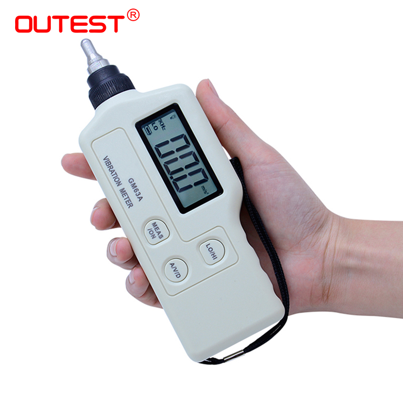 Original Handheld Portable LED Digital Vibration Sensor Meter Tester Vibrometer Analyzer Acceleration GM63A/63B hight quality gm63a handheld portable led digital vibration sensor meter tester vibrometer analyzer acceleration without box