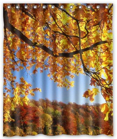 Awesome Autumn Shower Curtains Photos   The Best Bathroom Ideas .