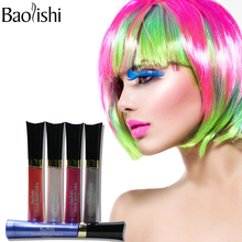 baolishi 12 Colors Non-toxic Paste Pastels Hair Crayons Kit Temporary Dye Personalized Beauty Hair Color for DIY Hair Styling To