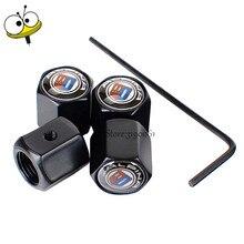 Rim-Sticker Wheel-Tire-Valve-Stem-Caps Alpina-Logo BMW for 325i 330i Car-Styling GT X1x3