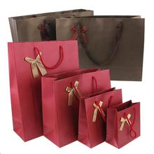 10PCS High Quality Thicken Paper Gift Bags Birthday Packaging Bag Wedding Party Candy Supplies