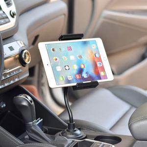 "Image 2 - אוניברסלי Gooseneck מתכוונן רכב כוס מחזיק הר ערש עבור iphone iPad סמסונג Xiaomi Huawei 3.5 "" 11"" נייד tablet"