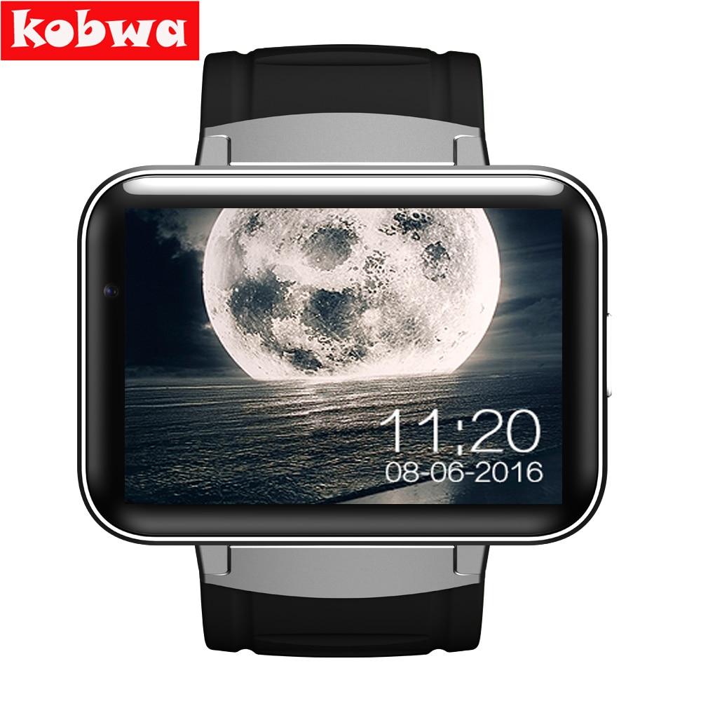 imágenes para DM98 Reloj Inteligente para Android 4.4.2 MTK6572 Dual core 2.2 pulgadas GPS Fitness Salud Sleep Monitor de Dispositivos Portátiles Inteligentes Smartwatch