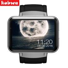 DM98 Reloj Inteligente para Android 4.4.2 MTK6572 Dual core 2.2 pulgadas GPS Fitness Salud Sleep Monitor de Dispositivos Portátiles Inteligentes Smartwatch