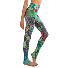 Women Yoga Pants Sports Tights Leggings Fitness Running Tights Colorful Butterfly Sport Trousers Mallas Mujer Deportivas JFK170