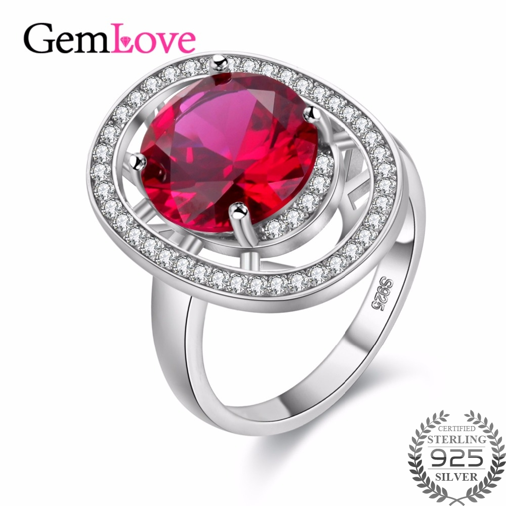 rings plated cubic platinum diamond from in princess ring new women corundum zircon ruby red engagement item jewelry natural stone accessories promise