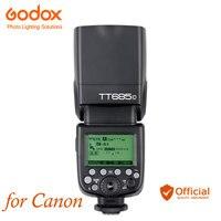 Godox TT685C speed lite 2,4G Беспроводная Высокоскоростная синхронизация внешняя ttl для Canon 1100D 1000D 7D 6D 60D 50D 600D 500D вспышка камеры