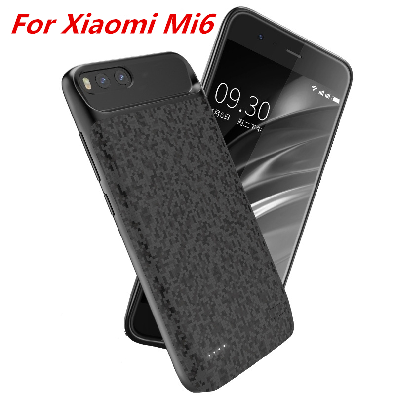 For Xiaomi mi6 Battery Case 5500 Mah External Smart Battery Backup Charger Case Cover Power Bank For Xiaomi mi 6 Battery CaseFor Xiaomi mi6 Battery Case 5500 Mah External Smart Battery Backup Charger Case Cover Power Bank For Xiaomi mi 6 Battery Case