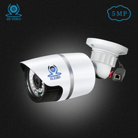 ZSVEDIO IP Cameras POE 5MP IP Camera Alarm System CCTV Camera IP Cameras POE Waterproof NVR