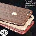 Cubierta del teléfono película protectora de cuerpo completo para apple iphone 5 5s sí 6 6 s plus Teléfono Etiqueta de Anverso y Reverso Impermeable y a prueba de polvo