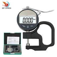 0.001 millimetri Elettronico Misuratore di Spessore di 10mm Micrometro Digitale Misuratore di Spessore Tester di Spessore di Micrometro Con RS232 di Uscita Dei Dati