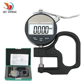 0.001mm 전자 두께 게이지 10mm 디지털 마이크로 미터 두께 측정기 micrometro 두께 테스터 rs232 데이터 출력