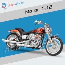 1 12 Scale Harley 2014 CVO BREAKOUT Metal Diecast Model Motorcycle Motorbike
