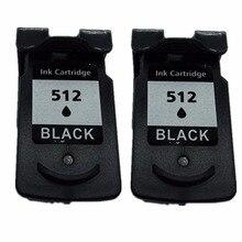 2 черные картриджи для Canon PG-510 XL PG-510XL PG 510 PG510 PIXMA MP330 MP480 MP490 MP492 MP495 MP499 струйный принтер