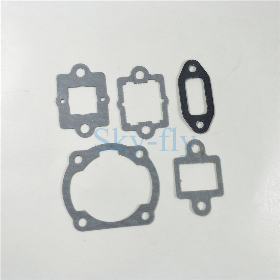 Sky-fly 1 Set Gasket For <font><b>DLE20</b></font> RC Airplane <font><b>Engine</b></font> Replacement image