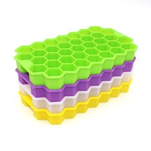 37 Grid Creative Honeycomb Silicone Ice Cube Tray Eco-Friendly Cavity Mini Cubes Small Square Mold
