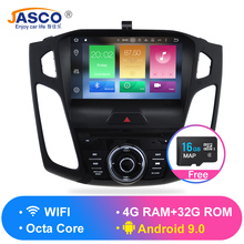 цена на HD 9' Octa Core Android 9.0 Car Radio GPS Navigation Stereo For ford Focus 2012 2013 2014 2015 2016 2017 Auto Audio